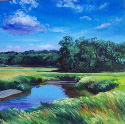 Ipswich River 3 Oil